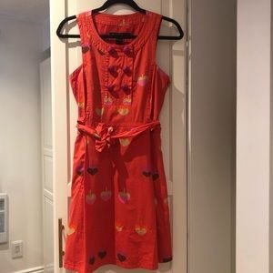 Marc by Marc Jacobs Authentic Orange Summer Dress